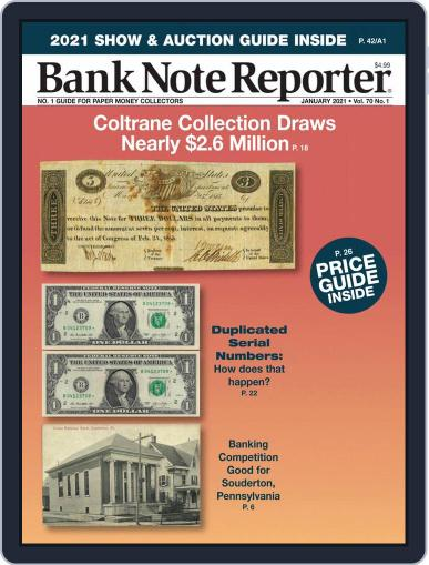 Banknote Reporter January 1st, 2021 Digital Back Issue Cover