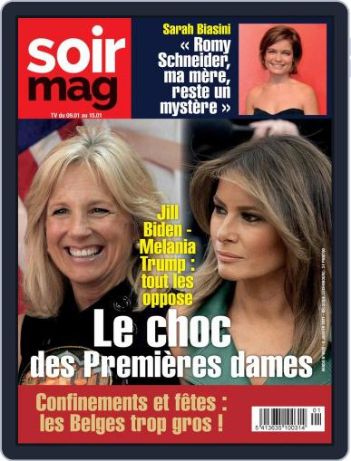 Soir mag January 6th, 2021 Digital Back Issue Cover