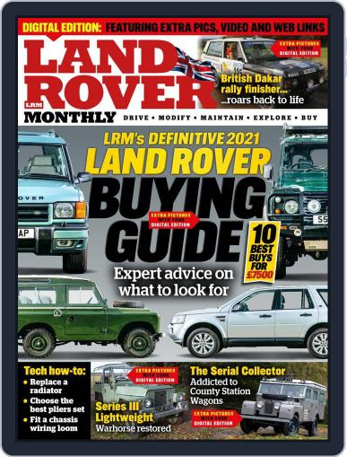 Land Rover Monthly February 1st, 2021 Digital Back Issue Cover