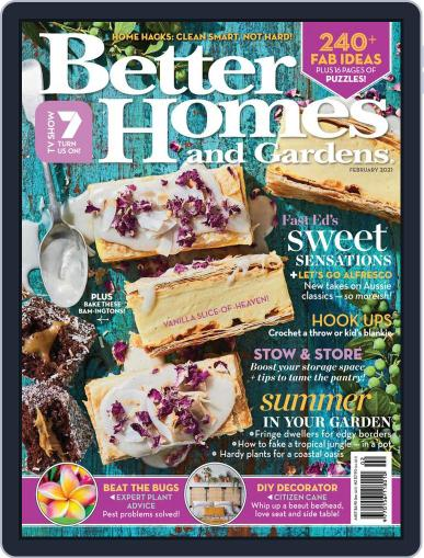 Better Homes and Gardens Australia (Digital) February 1st, 2021 Issue Cover