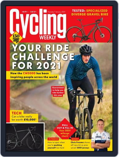 Cycling Weekly January 7th, 2021 Digital Back Issue Cover