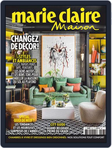 Marie Claire Maison (Digital) February 1st, 2021 Issue Cover