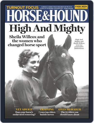 Horse & Hound (Digital) January 7th, 2021 Issue Cover
