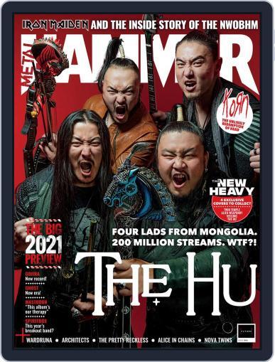 Metal Hammer UK February 1st, 2021 Digital Back Issue Cover