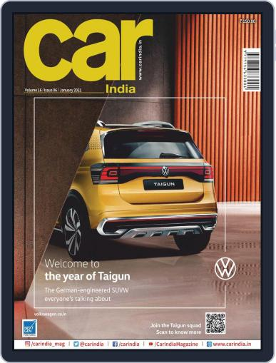 Car India January 1st, 2021 Digital Back Issue Cover