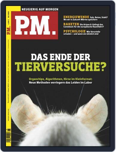 P.M. Magazin February 1st, 2021 Digital Back Issue Cover