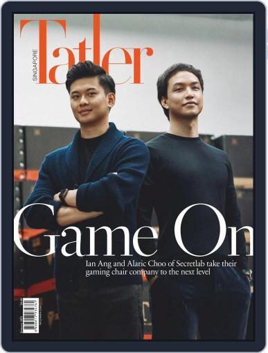 Tatler Singapore January 1st, 2021 Digital Back Issue Cover