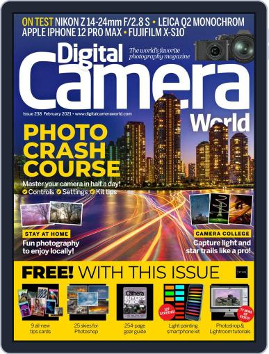 Digital Camera World February 1st, 2021 Issue Cover