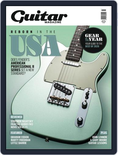 Guitar (Digital) January 1st, 2021 Issue Cover
