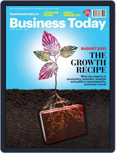 Business Today (Digital) January 24th, 2021 Issue Cover