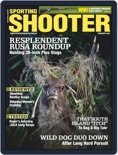 Sporting Shooter February 1st, 2021 Digital Back Issue Cover