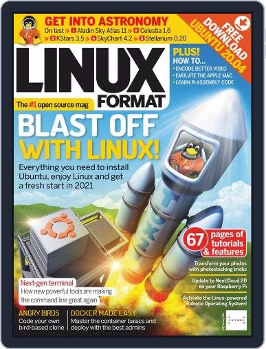 Linux Format February 1st, 2021 Digital Back Issue Cover