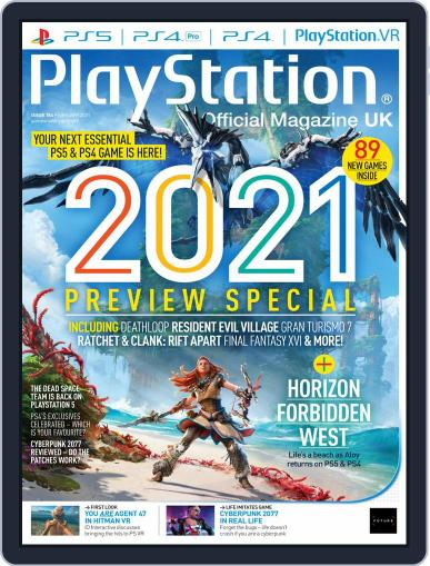 Official PlayStation Magazine - UK Edition (Digital) February 1st, 2021 Issue Cover
