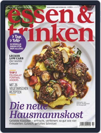 essen&trinken February 1st, 2021 Digital Back Issue Cover