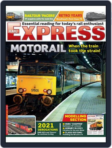 Rail Express (Digital) February 1st, 2021 Issue Cover