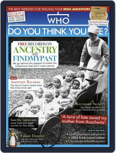 Who Do You Think You Are? (Digital) February 1st, 2021 Issue Cover
