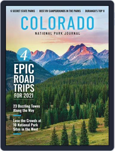 National Park Journal January 1st, 2021 Digital Back Issue Cover
