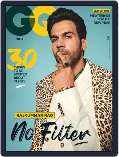 GQ India (Digital) January 1st, 2021 Issue Cover