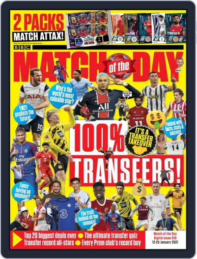 Match Of The Day (Digital) January 12th, 2021 Issue Cover