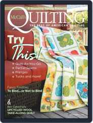 McCall's Quilting (Digital) Subscription March 1st, 2021 Issue