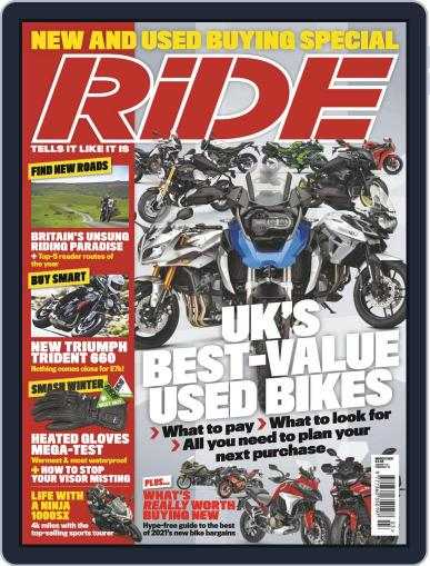 RiDE United Kingdom (Digital) January 13th, 2021 Issue Cover