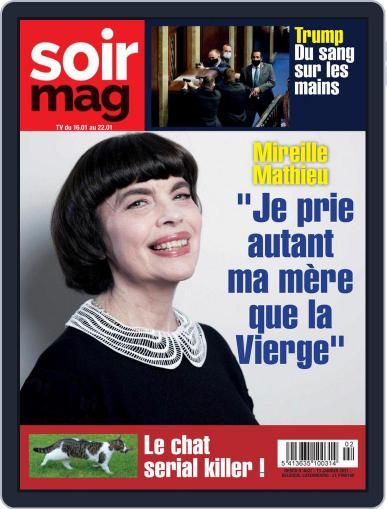 Soir mag January 13th, 2021 Digital Back Issue Cover