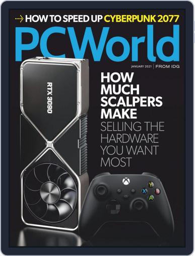 PCWorld (Digital) January 1st, 2021 Issue Cover