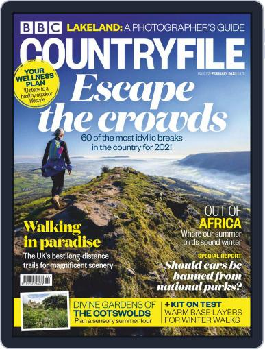Bbc Countryfile (Digital) February 1st, 2021 Issue Cover