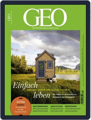 GEO February 1st, 2021 Digital Back Issue Cover