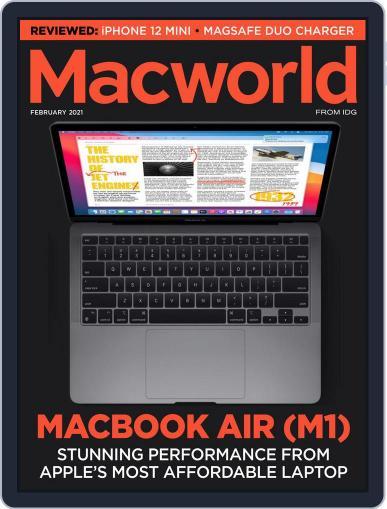 Macworld UK (Digital) February 1st, 2021 Issue Cover