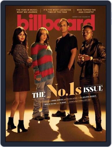 Billboard (Digital) December 19th, 2020 Issue Cover