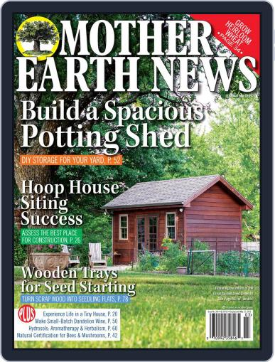 MOTHER EARTH NEWS February 1st, 2021 Digital Back Issue Cover