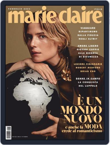 Marie Claire Italia February 1st, 2021 Digital Back Issue Cover
