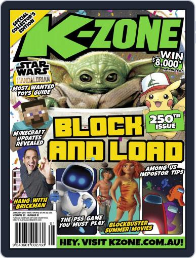 K-Zone (Digital) January 1st, 2021 Issue Cover