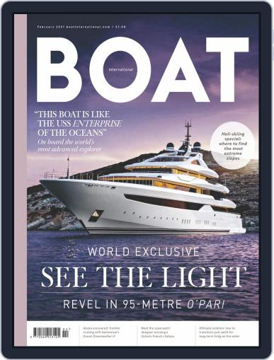 Boat International (Digital) February 1st, 2021 Issue Cover