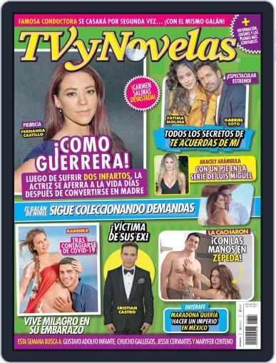 TV y Novelas México (Digital) January 18th, 2021 Issue Cover