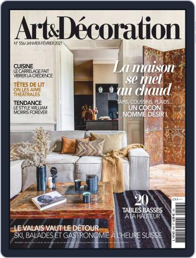 Art & Décoration January 13th, 2021 Digital Back Issue Cover