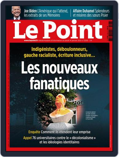 Le Point January 14th, 2021 Digital Back Issue Cover