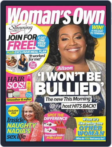 Woman's Own January 25th, 2021 Digital Back Issue Cover