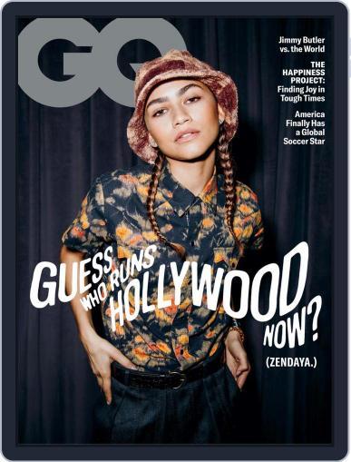 GQ (Digital) February 1st, 2021 Issue Cover