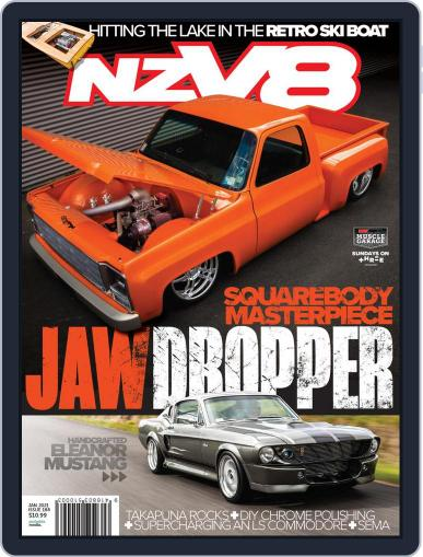 NZV8 (Digital) January 1st, 2021 Issue Cover