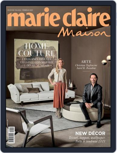 Marie Claire Maison Italia February 1st, 2021 Digital Back Issue Cover