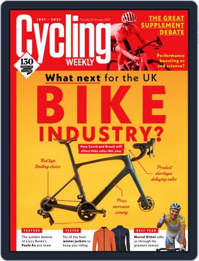 Cycling Weekly January 21st, 2021 Digital Back Issue Cover