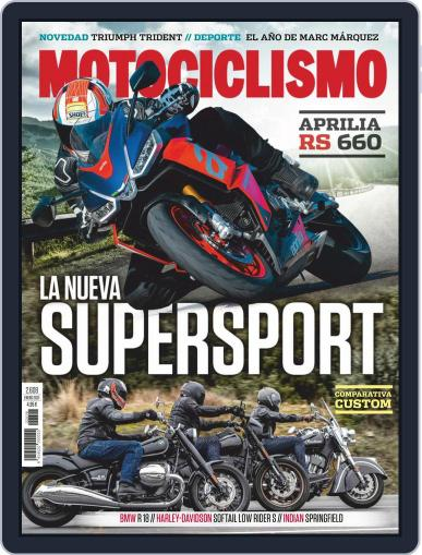 Motociclismo (Digital) February 1st, 2021 Issue Cover