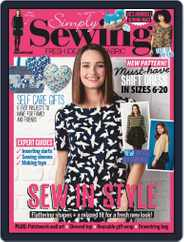 Simply Sewing (Digital) Subscription March 1st, 2021 Issue