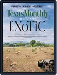Texas Monthly (Digital) Subscription February 1st, 2021 Issue