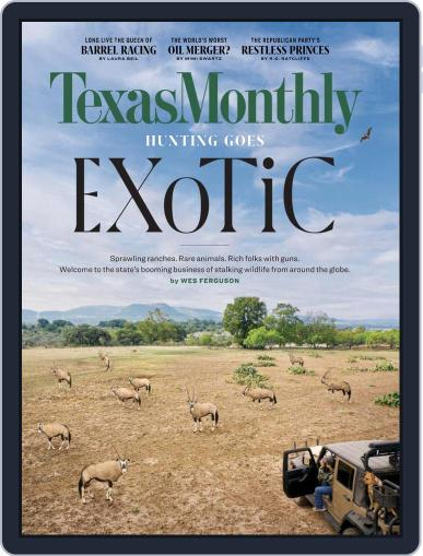 Texas Monthly (Digital) February 1st, 2021 Issue Cover