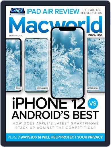 Macworld February 1st, 2021 Digital Back Issue Cover