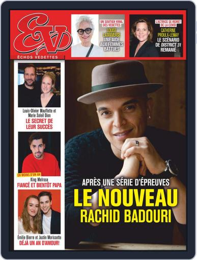 Échos Vedettes (Digital) January 23rd, 2021 Issue Cover