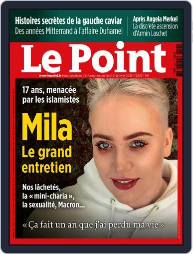 Le Point January 21st, 2021 Digital Back Issue Cover